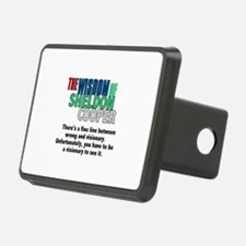 Sheldon Cooper's Visionary Quote Hitch Cover