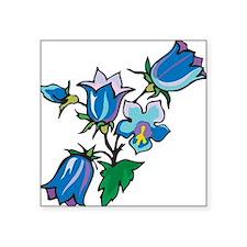 """bluebonnet.png Square Sticker 3"""" x 3"""""""