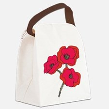 poppy.png Canvas Lunch Bag
