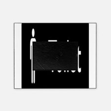 toilet,man,black.png Picture Frame