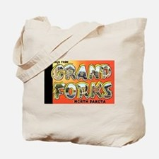 Grand Forks North Dakota Tote Bag