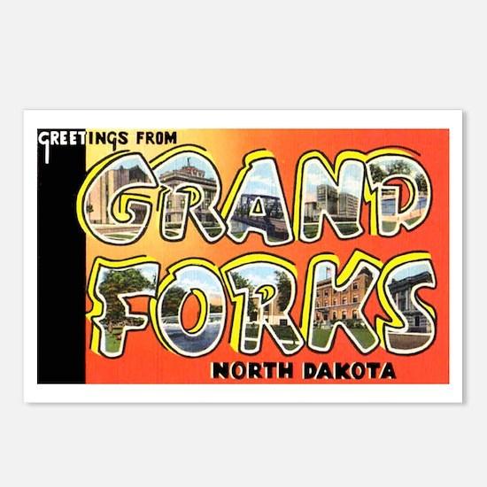 Grand Forks North Dakota Postcards (Package of 8)