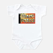 Grand Forks North Dakota Infant Bodysuit