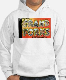 Grand Forks North Dakota (Front) Hoodie