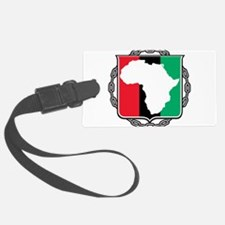 africa,flag-and-chain.png Luggage Tag