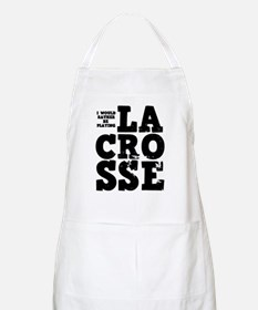'Playing Lacrosse' Apron