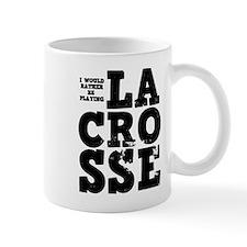 'Playing Lacrosse' Mug