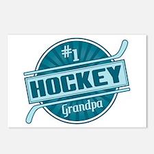 #1 Hockey Grandpa Postcards (Package of 8)