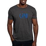 Ciao (Blue) - Charcoal T-Shirt