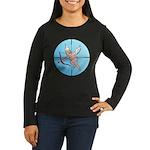 Target Cupid Women's Long Sleeve Dark T-Shirt