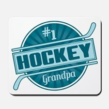 #1 Hockey Grandpa Mousepad