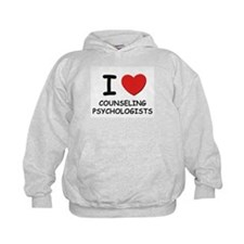 I love counselling psychologists Hoodie