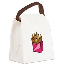 fries2.png Canvas Lunch Bag