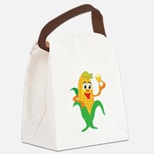 corn,corny1.png Canvas Lunch Bag