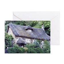 English Cottage, Bath - Greeting Cards