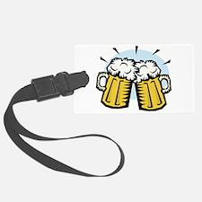 beer, mugs.jpg Luggage Tag
