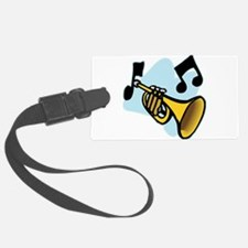 trumpet,png.png Luggage Tag