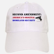 Second Amendment Original Homeland Baseball Baseball Baseball Cap