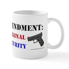 Second Amendment Original Homeland Mug