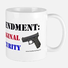 Second Amendment Original Homeland Mug