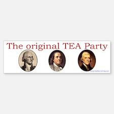 Original TEA party Bumper Bumper Bumper Sticker