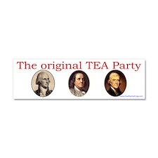 Original TEA party Car Magnet 10 x 3