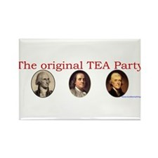 Original TEA party Rectangle Magnet