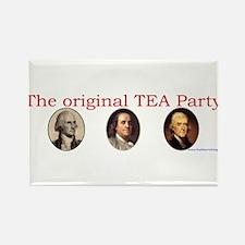 Original TEA party Rectangle Magnet