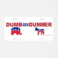 Dumb and Dumber Aluminum License Plate