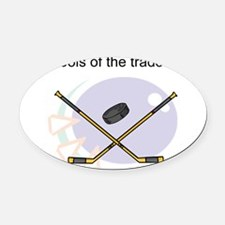 tools-of-the-trade1.png Oval Car Magnet