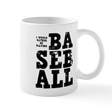'Playing Baseball' Mug