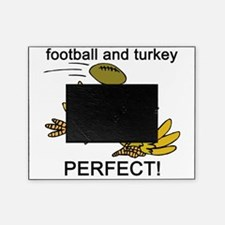football and turkey, perfect.jpg Picture Frame