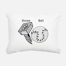 screw ball 2.jpg Rectangular Canvas Pillow