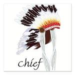 indian head dress,chief.jpg Square Car Magnet 3