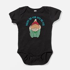 pulling-wool-over-his-eyes.png Baby Bodysuit
