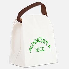 Minnesota Nice g Canvas Lunch Bag
