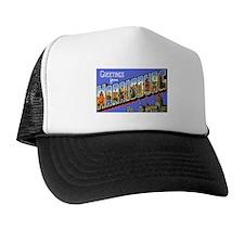 Harrisburg Pennsylvania Greetings Trucker Hat