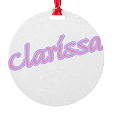 clarissa copy.jpg Ornament