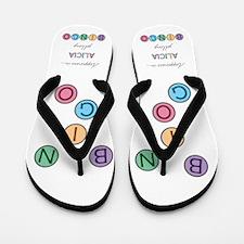 Alicia BINGO Flip Flops