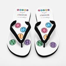 Beverly BINGO Flip Flops