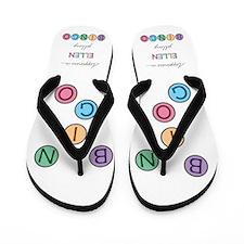 Ellen BINGO Flip Flops