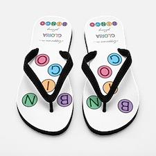 Gloria BINGO Flip Flops