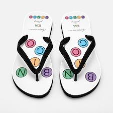Ida BINGO Flip Flops