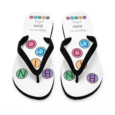 Jean BINGO Flip Flops