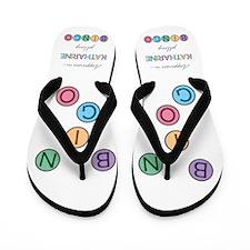 Katharine BINGO Flip Flops
