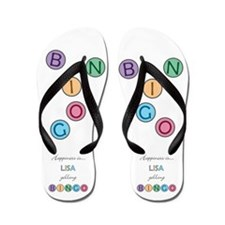 Lisa BINGO Flip Flops
