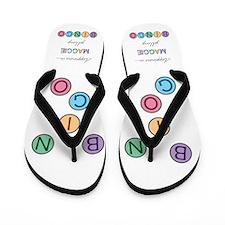 Maggie BINGO Flip Flops