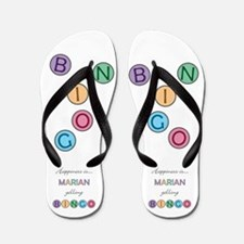 Marian BINGO Flip Flops
