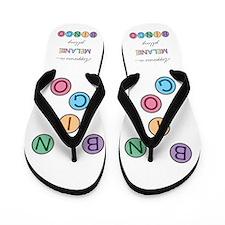 Melanie BINGO Flip Flops