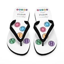 Myrtle BINGO Flip Flops